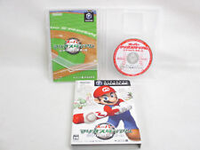 SUPER MARIO STADIUM Miracle Baseball REF/ccc Game Cube Nintendo JAPAN Game gc