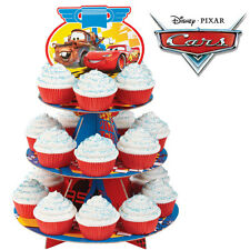 1 Disney CARS Cupcake Party Stand Wilton McQueen Decorative Dessert Stand