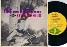 Kevin Shegog ORIG OZ EP One small photograph EX '63 W&G WGE1707 Early OZ Country