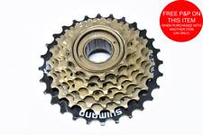 Pignon 14 dts Shimano cassette 7 vitesses à visser position départ bronze neuf