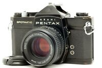 【EXC+++】 Asahi Pentax SPOTMATIC SP 35mm SLR w/ smc Takumar 55mm f/1.8 Lens JAPAN