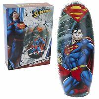 DC Comics Superman Kids Bop Bag Inflatable Punch Bag Bopper Toy Game 80cm