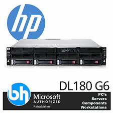 HP Proliant DL180 / DL160 G6 Server 2x Quad Core Xeon E5620 16GB RAM P410 RAID