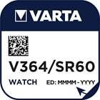 Pile Montre 364 / SR60 / SR621 / SR621SW / AG1 Varta