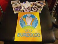 ***NEW EMPTY HARDCOVER ALBUM AND COMPLETE STICKER SET - UEFA EURO 2020