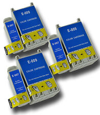 6 T007/09 non-OEM Ink Cartridge For Epson Stylus Photo Printer 1280 1290 1290S