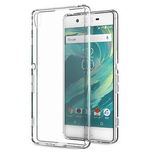 Flexible Shell Transparent And Resistant For Sony XA ULTRA