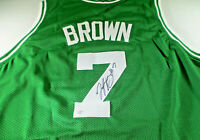 JAYLEN BROWN / BOSTON CELTICS / AUTOGRAPHED BOSTON CELTICS CUSTOM JERSEY / COA