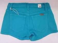 $128 NWT Joe's Jeans Denim Short Tile Blue Women's 25