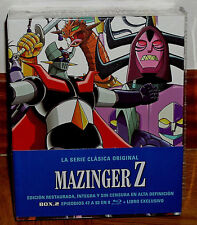 MAZINGER Z LA SERIE CLASICA ORIGINAL BOX.2 NUEVO PRECINTADO 8 BLU-RAY (SIN ABRIR
