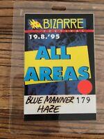 BIZARRE - Original Artist FESTIVAL Tour-Pass vom 19.08.1995 Monster Magnet