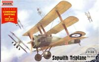 Roden 609 - 1/32 - Sopwith Triplane fighter-triplane WWI plastic model kit
