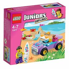 LEGO 10677 Excursion à la plage JUNIORS Easy to Build voiture surf chien COMPLET