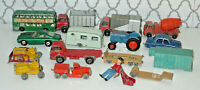 Lot Of  Vintage Lesney Matchbox Cars Played with                     (Bin12)