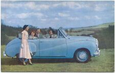 Austin A40 Somerset Coupe original colour Factory issued Postcard Pub. No. 1004