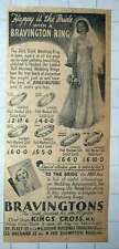 1949 Brassington's Cash Jewellers For Over A Hundred Years Chief Store King's X