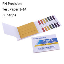 80ph 1 14 Test Strips Litmus Test Paper Full Range Acidic Alkaline Indicator