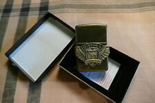 ZIPPO CAMEL BIKER ANTIQUE BRASS LIGHTER 1996