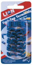 Lion Easy Fast Tap Terminals Wire Size 2.5-3.0mm Blue 9 Piece