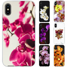 Dessana Orchids TPU Silicone Protective Cover Phone Case Cover For Apple