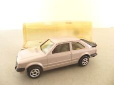 Norev Jet Car Ford Escort Four Door Saloon Car - French Diecast Model Car