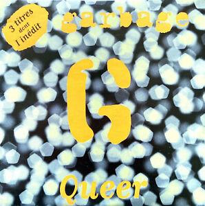 Garbage CD Single Queer - France (EX/EX+)