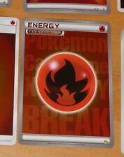 POKEMON JAPANESE RARE HOLO CARD CARTE ENERGY FIR FIRE FEU CP4 JAPAN 2016 NM