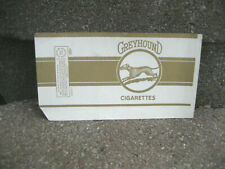 Vintage Greyhound Cigarette Tobacco Packaging Wrapper
