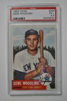 1953 Topps - Gene Woodling - #264 - PSA 5.5 - EX+