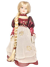 "Rumpelstiltskin Disney Princess Figurine Doll Brass Key 16"""