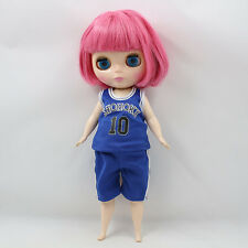 """Cute Fat Girl 12/"""" Neo Blythe Doll Factory Nude Blythe Doll from Factory JSW95004"""