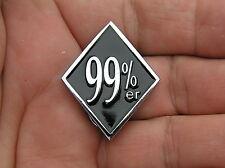 UK ~ 99%er LAPEL PIN Badge *HIGH QUALITY* Biker Emblem suit HARLEY-DAVIDSON Vest