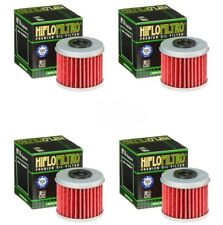 Honda TRX450R TRX450ER HiFlo Oil Filter HF116 TRX 450R 450ER - Pack of 4
