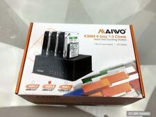 MicroStorage K3084 SSD/Festplatten Duplikator, 4 Schächte, Clonen ohne PC, USB 3