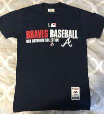 Atlanta Braves Majestic MLB Authentic Collection Small T-Shirt