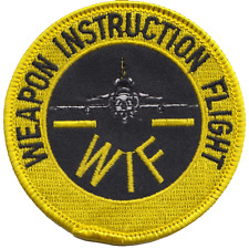 Weapon Instructor Flight WIF Royal Air Force RAF Embroidered Patch