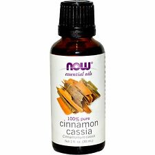 Cinnamon Cassia (100% Pure), 1 oz - NOW Foods Essential Oils