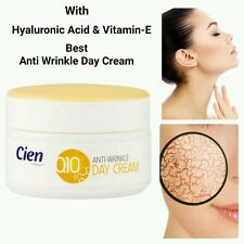 With Hyaluronic Acid & Vitamin-E, Strong Anti Wrinkle Cien Q10 Day Cream