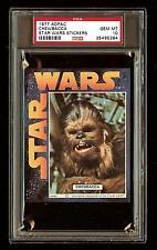 CHEWBACCA 1977 Star Wars ADPAC General Mills Cereal Sticker  PSA 10