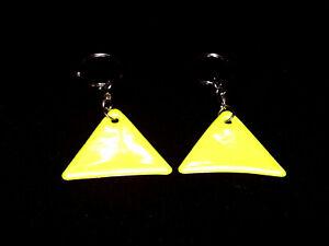 (2,00€/St) 2 Kinder-Reflektor Anhänger Reflektor Sicherheit Fußgänger Dreieck