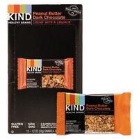 KIND Healthy Grains Bar Peanut Butter Dark Chocolate 1.2 oz 12/Box 18083