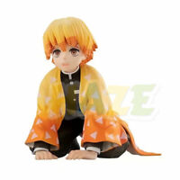 Demon Slayer: Kimetsu no Yaiba Zenitsu Agatsuma Sitting PVC Figure Model Gift
