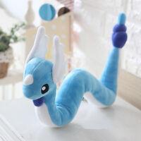 "26"" Pokemon Go Dragonair Dragon Plush Toys Pocket Monster Stuffed Animal Doll"
