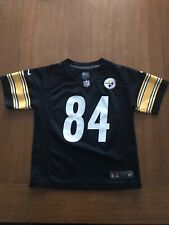 NWOT! Pittsburgh Steelers ANTONIO BROWN NFL Jersey YOUTH BOYS (L-LG-LARGE)