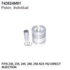 743824M91 Massey Ferguson Parts Piston, Individual 135, 150, 20, 2135, 230, 235,