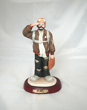 "Emmet Kelly Jr Professional Series Figurine, ""The Pilot"", Signed"