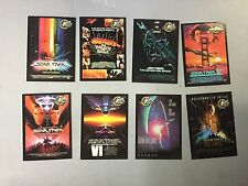 STAR TREK Subsets from SKYBOX (3 different Rare INSERT sets), FREE SHIPPING