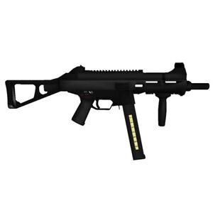 1:1 3D Paper Model HK UMP 45 Sub Machine Gun Weapon Military Puzzle Cosplay DIY