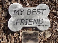 'My Best Friend' Memorial/Plaque Mould ... MOULDS 4 YOU ... #BP591