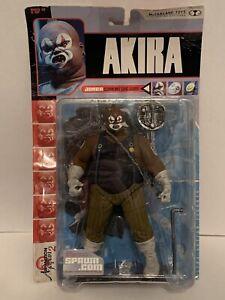 "2000 Mcfarlane Toys Akira JOKER Action Figure 8"" Spawn.com Package Wear"